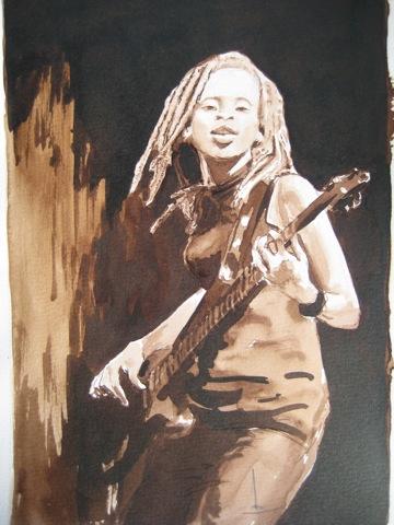 Mah Koudia  bassiste